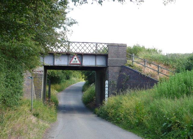 Disused Railway Bridge at Little Buckland