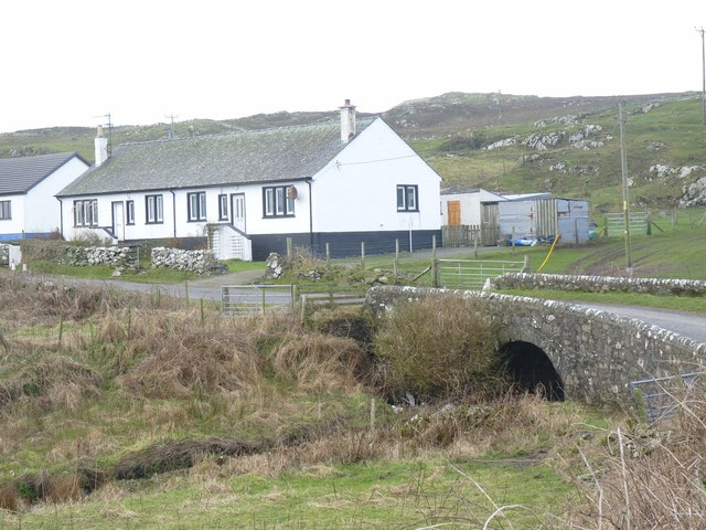 Bridge across the Abhainn Ardnish, Islay