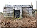 NR2356 : Boarded up and Derelict, near Portnahaven, Islay by Becky Williamson