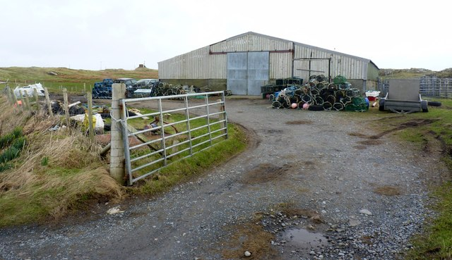 Lobster Pot Collection, Port Wemyss, Islay