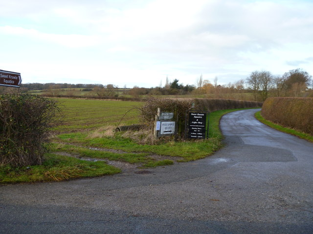 Farm & business driveway