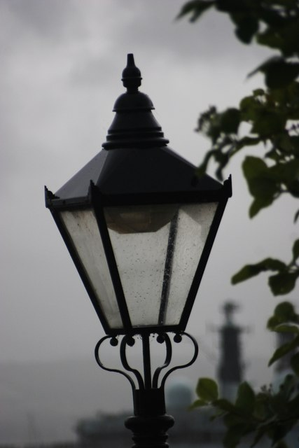 The Lamp - close-up
