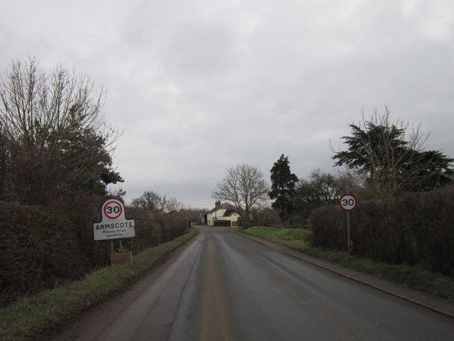 Ilmington Road, Armscote