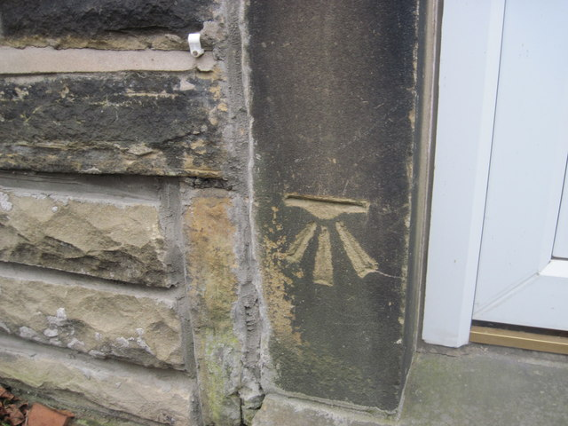 Ordnance Survey Cut Mark