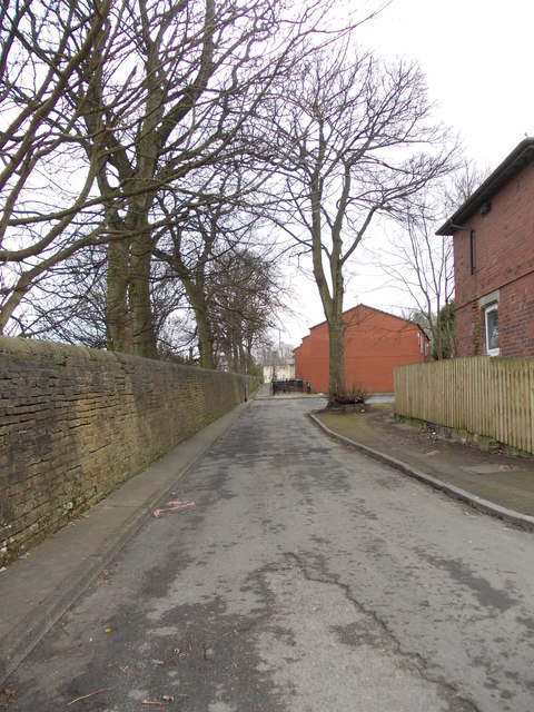 Brooksbank Avenue - ending in Footpath