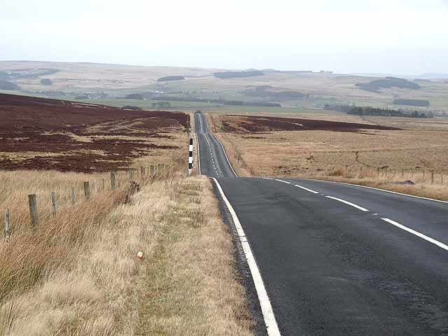 The road to Otterburn