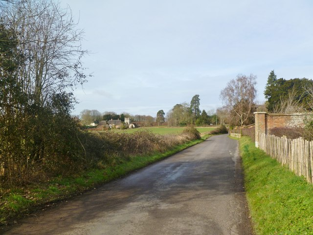 New Town, country lane