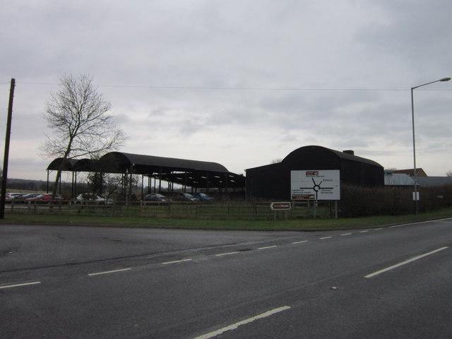 Farm buildings at Harwoods House Farm