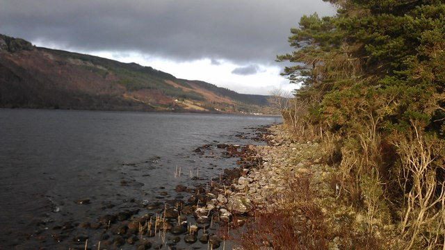 An uncommon view of Loch Ness