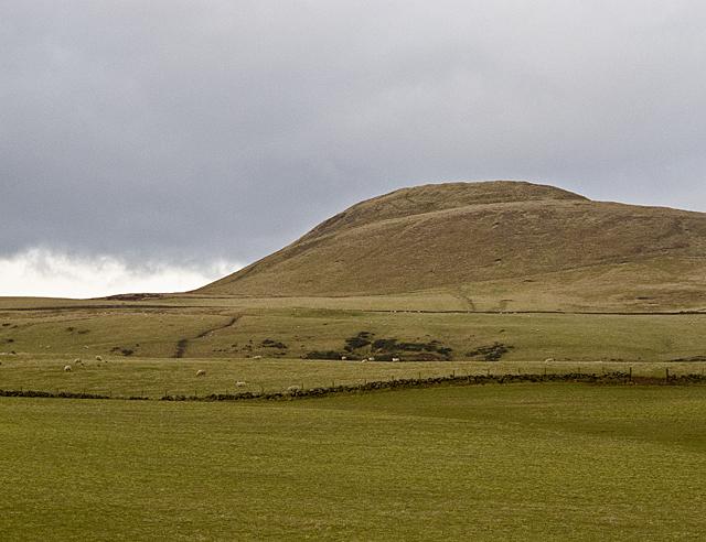 Farmland south of Hangingmyre