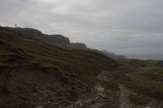 Coastal path from Kilchoman to Kilchiaran, Islay
