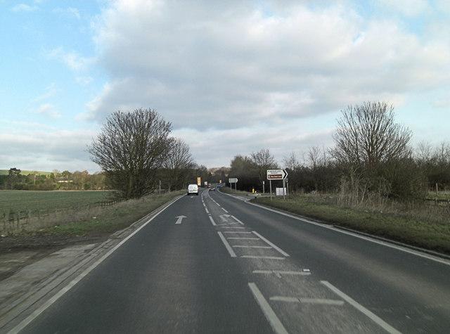 A4130 northwest of Brightwell-cum-Sotwell