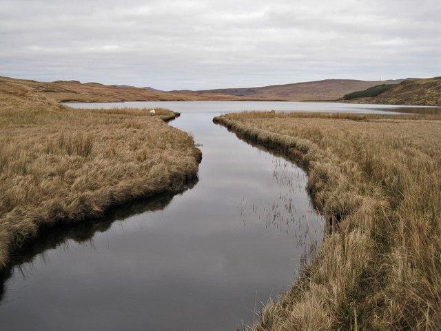 Western end of Loch Duagrich