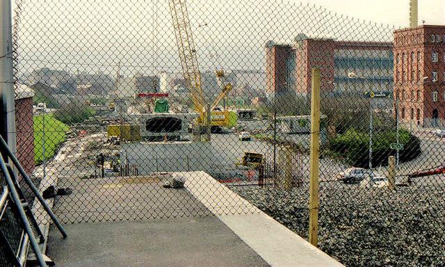 Weir and cross-harbour bridges, Belfast (67)