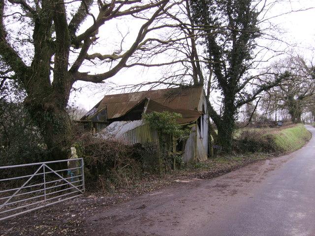 Old garage of Glandwr