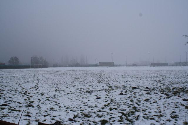 Maltings Meadow in winter
