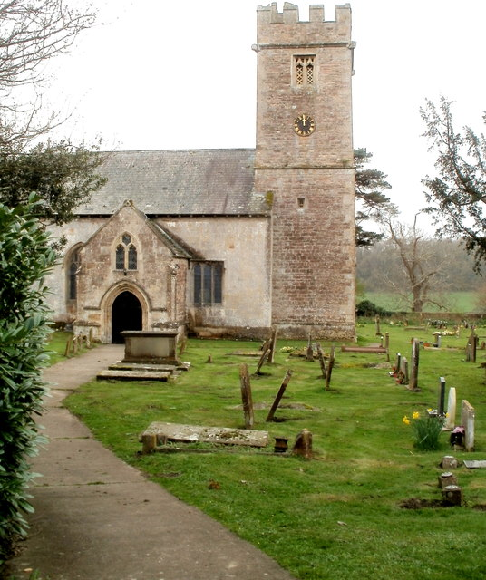 Tower of the Grade II* listed Parish Church of St Stephen & St Tathan, Caerwent