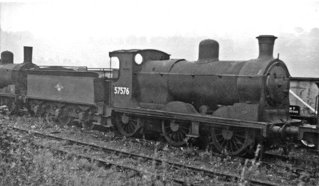 Ex-Caledonian '812' class 0-6-0 dumped at Bo'ness