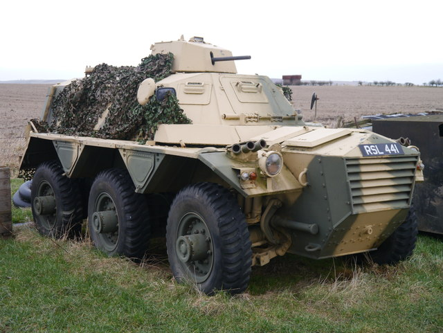 Armoured Personnel Carrier Near Berwick