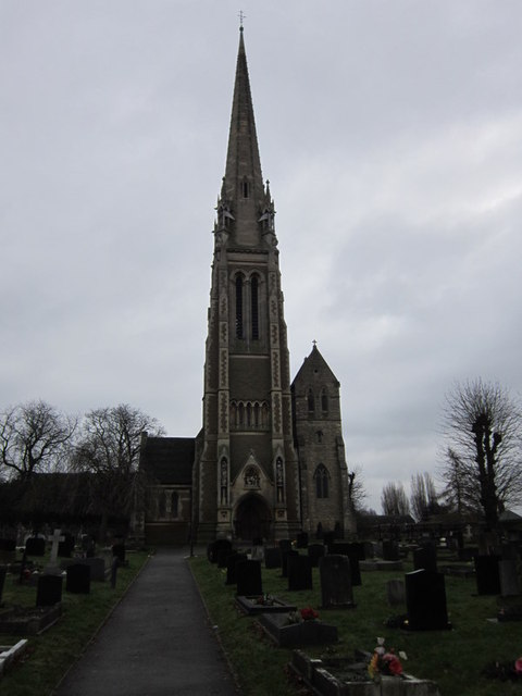 St Marie's, taken from Dunchurch Road