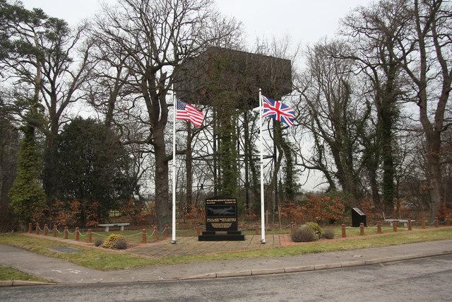 Conington USAAF memorial