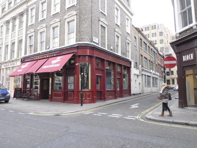 Junction of Drury Lane and Dryden Street