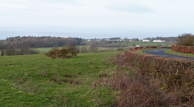 View towards Auchincruive