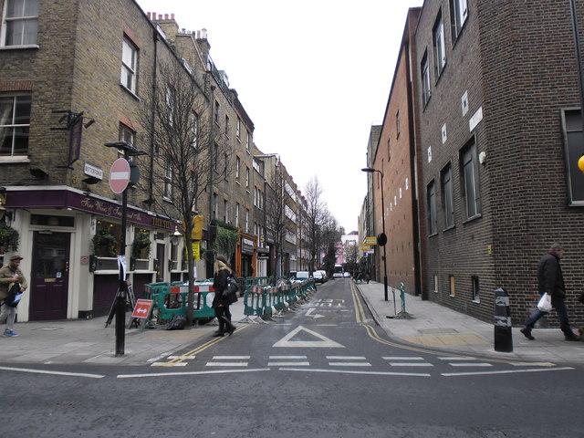 Junction of Drury Lane and Betterton Street