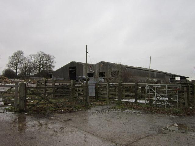Barns near Top Barn Farm