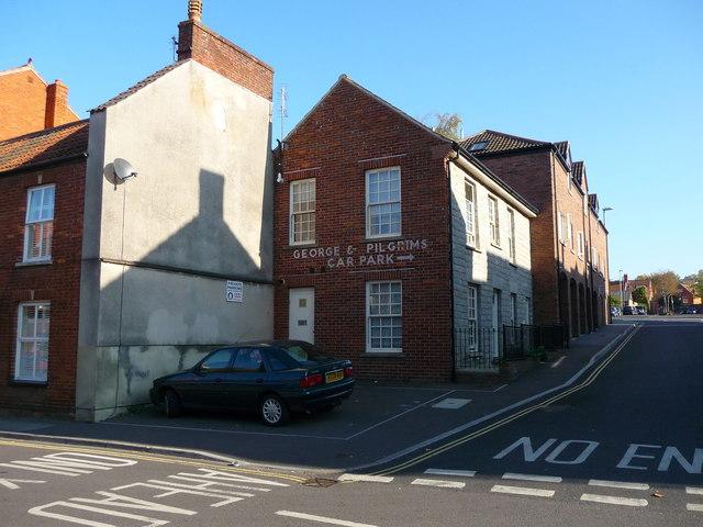 Glastonbury - Road Junction