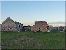 SX9456 : Former Guard House & Powder Store, Berry Head by Robin Drayton