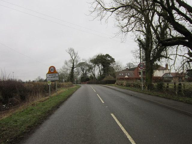 Entering North Kilworth