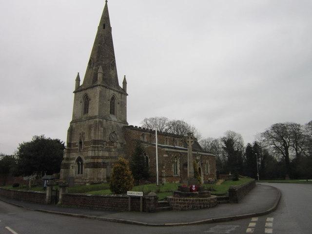 All Saints Church, Husbands Bosworth