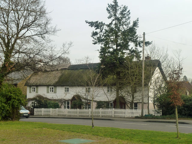 Thatched cottages, Crofton Road