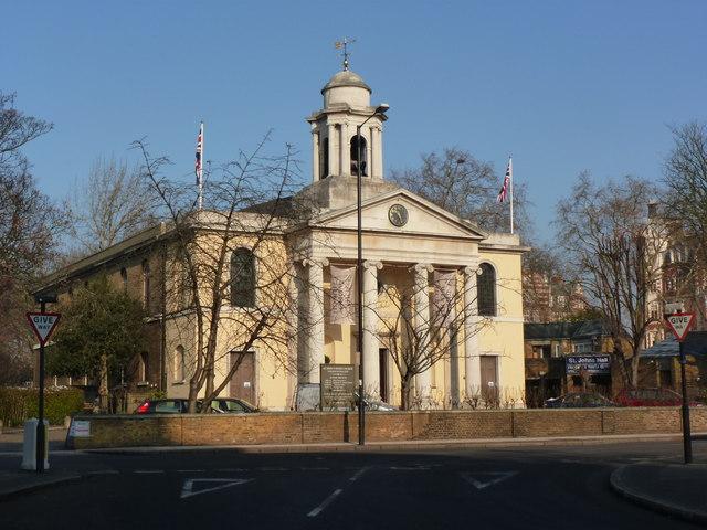 The parish church, St John's Wood, London