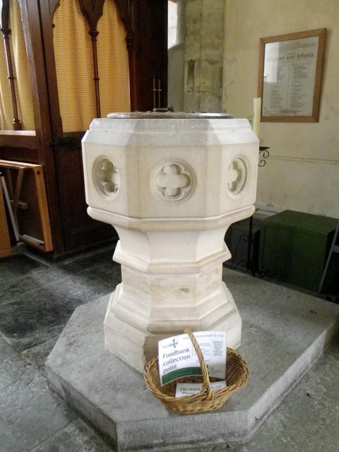 Font, The Church of St Mary the Virgin