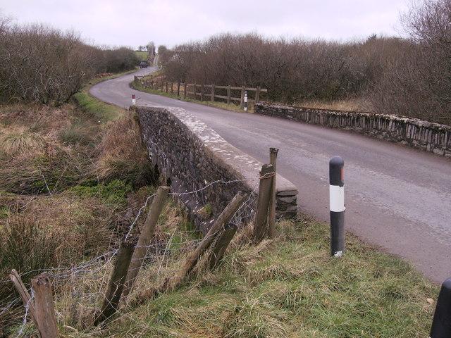 Hermon road crosses Afon Gafel