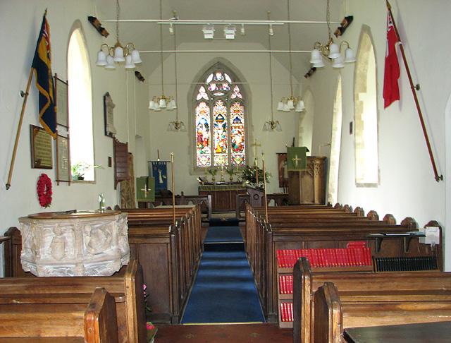 All Saints church in Waldringfield