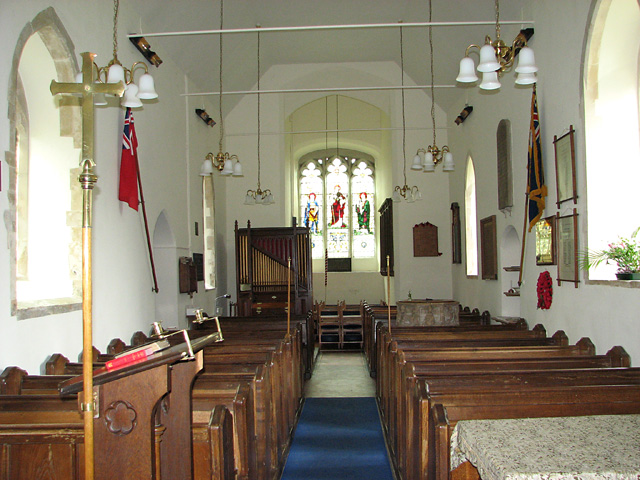 All Saints church in Waldringfield