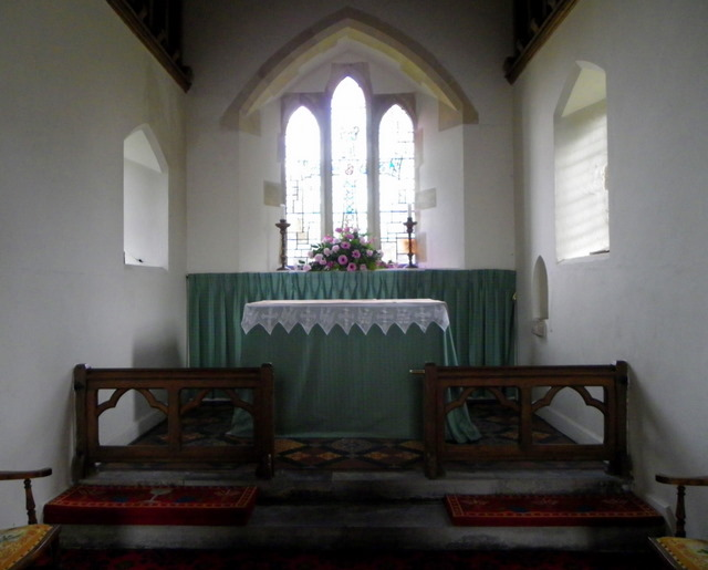 Chancel, The Church of St Mary the Virgin