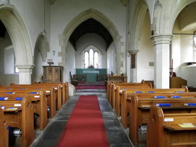 Interior, The Church of St Mary the Virgin