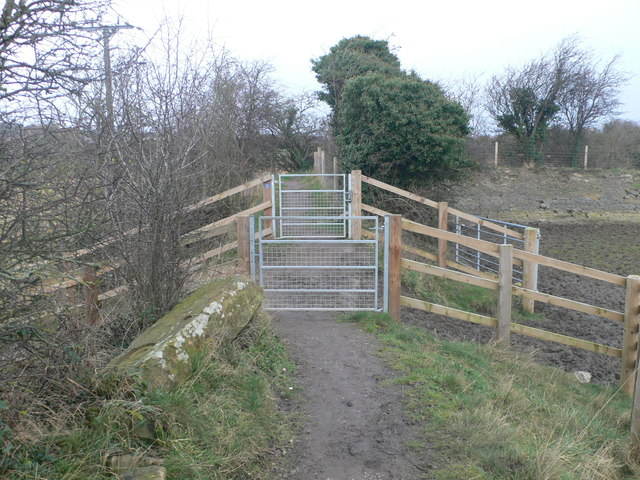 New gates on the Coastal Path