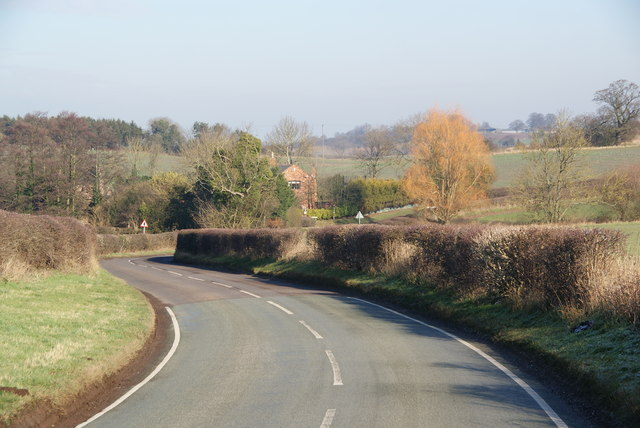 The road to Brocton