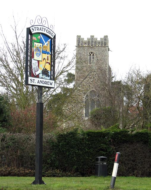 St Andrew's church in Stratford St Andrew