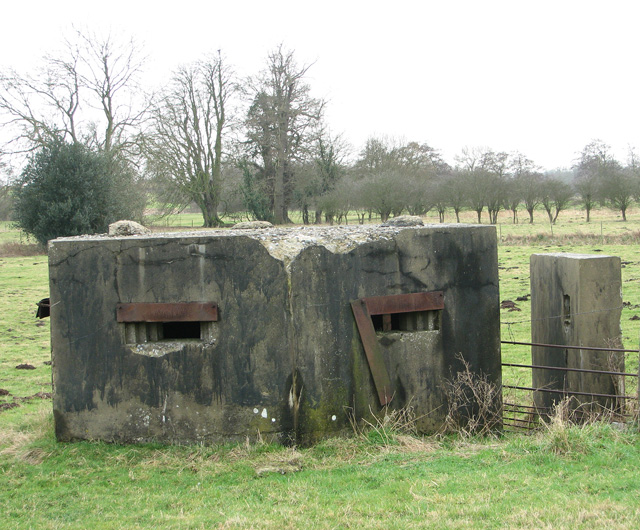 WWII pillbox, Stratford St Andrew