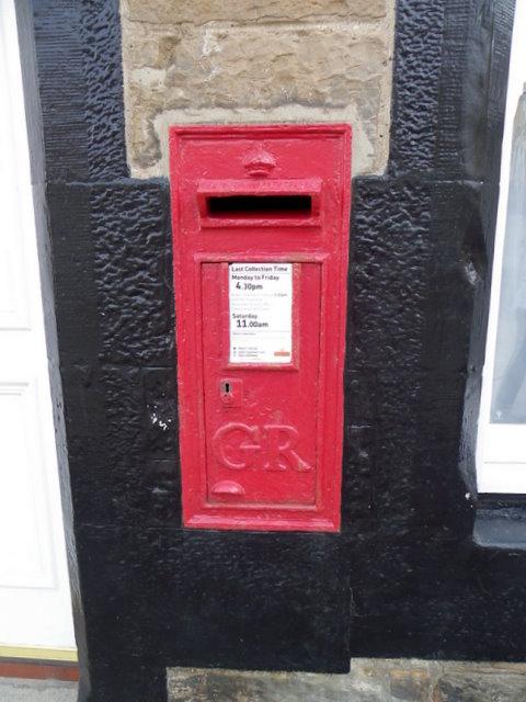 Postbox, Cellardyke
