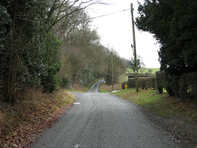 Rural lane in Farnham