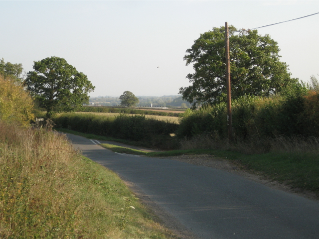 Wawensmere Road, turning to Lower Wavensmere