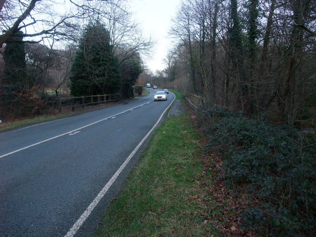The A35 to Lyndhurst