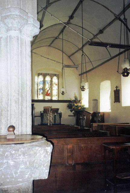 Side chapel, St. Andrew's, Hittisleigh, Devon